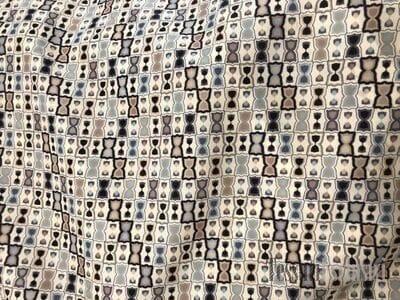 Шелк блузочный бантики