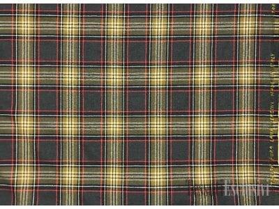 Шерсть шотландка темно-серая