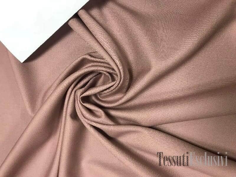 Шерсть костюмная в стиле лейтмотив пепельно-розовая