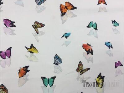 Хлопок с бабочками в стиле Dolce Gabbana