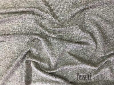 Трикотаж серый с золотом тонкий