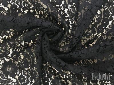 Кружево кордовое черное