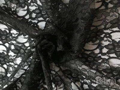 Кружево черное
