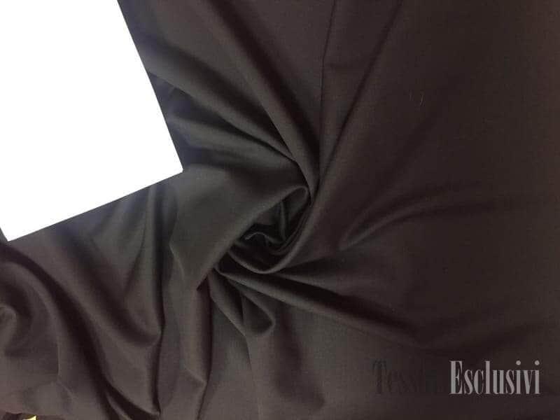 Шерсть костюмная черная