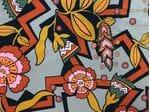 Шелк геометрия и цветы в стиле Dior
