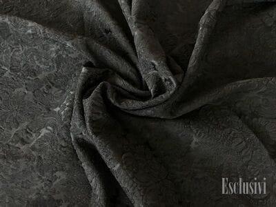 Жаккард  черный в стиле дольче габбана
